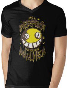 Perfect Day for Mayhem Mens V-Neck T-Shirt