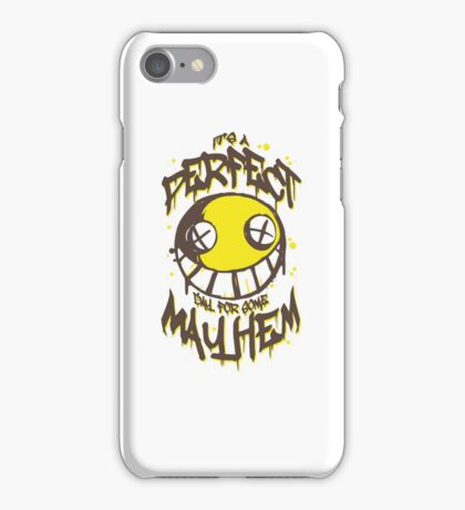 Perfect Day for Mayhem iPhone Case/Skin