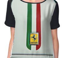 Italian Stripes Chiffon Top