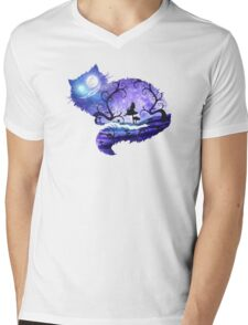 We are all mad here Mens V-Neck T-Shirt