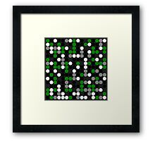Industrial Green Framed Print