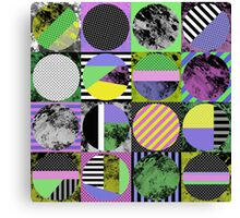 Pop Art Grid Canvas Print