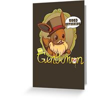 Good Eeveening! Greeting Card