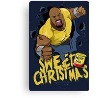 Luke Cage - Sweet Christmas Canvas Print