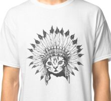 Indian Chief Cat Classic T-Shirt