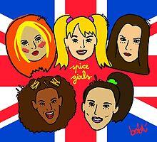 Spice Girls by Xavierboldu