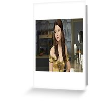 belle 1 Greeting Card