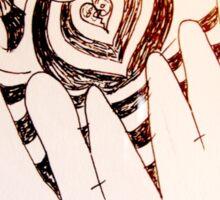 Batty Original Art by Atropine Sticker