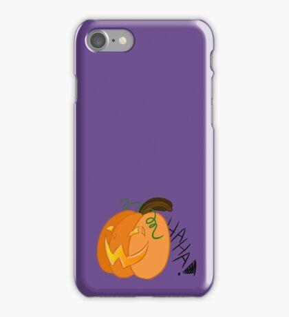 Laughing Jack-o-Lantern iPhone Case/Skin