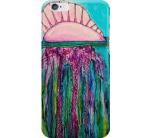 Portuguese Man-O-War Jellyfish iPhone Case/Skin