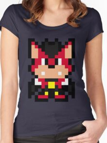 Pixel Aero the Acrobat Women's Fitted Scoop T-Shirt