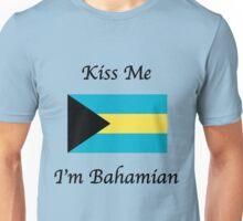 Kiss Me I'm Bahamian Unisex T-Shirt