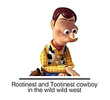 Toy Story - Rootinest & Tootinest Photographic Print