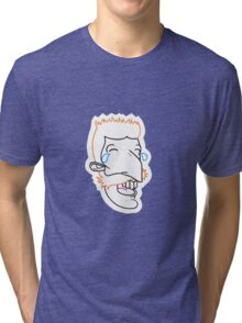 Nigel Cry Laughing Tri-blend T-Shirt