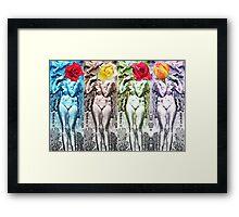 Body Language 17 Framed Print