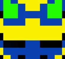 Pixel Buck Bumble Sticker