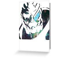 Space Garrus  Greeting Card