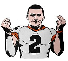 "Johnny Manziel ""MONEY TEAM"" Abstract Design by RhinoEdits"