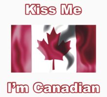 Kiss Me I'm Canadian Kids Clothes