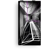 Cube with  a view Canvas Print