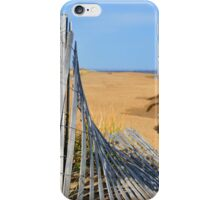 Beyond the Beach Fence iPhone Case/Skin