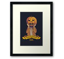 Doctor Who Halloween Framed Print