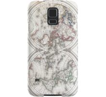 Vintage Map of The World (1848)  Samsung Galaxy Case/Skin