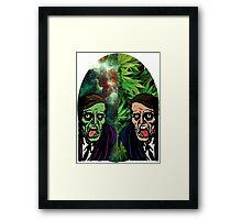 2 Faced Framed Print