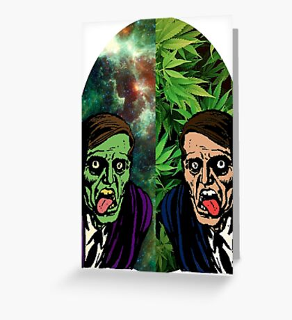 2 Faced Greeting Card