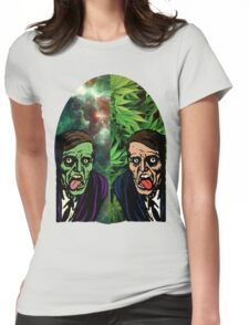 2 Faced Womens Fitted T-Shirt