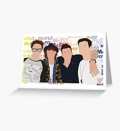 mcfly Greeting Card
