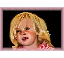 ✦ ✧ ✩ ✫ ✬Face Of An Angel✦ ✧ ✩ ✫ ✬ Photographic Print