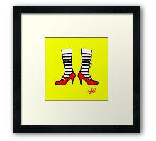 Wizard of Oz Framed Print