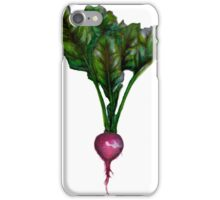 Rooted: The Radish iPhone Case/Skin