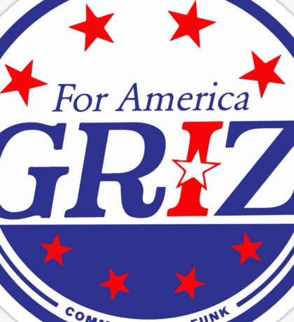 Griz - FOR AMERICA Sticker
