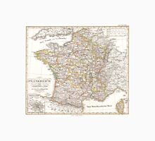 Vintage Map of France (1850)  Unisex T-Shirt