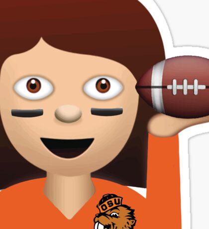 Oregon State Football Emoji Sticker