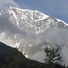 solo lassù io ti ho ritrovato....Monte Rosa - Italy - by Guendalyn