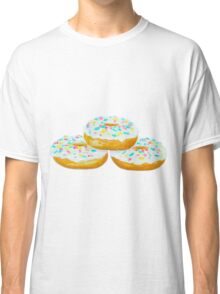 Three Delicious Donuts Classic T-Shirt