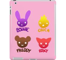 Bonnie, Chica, Foxy and Freddy iPad Case/Skin