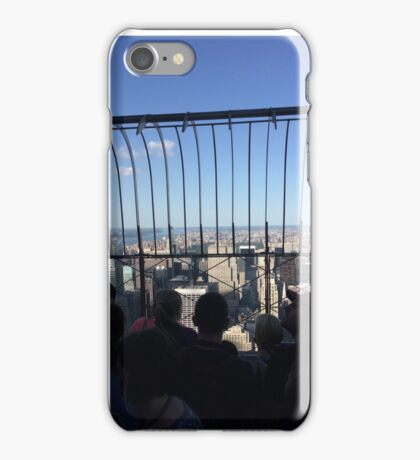 View from Empire State Building iPhone Case/Skin