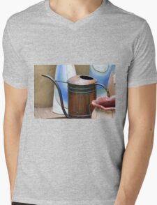 watering can in the garden Mens V-Neck T-Shirt