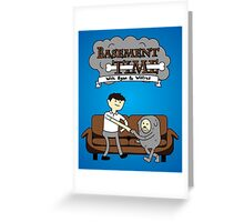 Basement Time Greeting Card