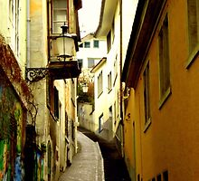 Trittligasse, in Zurich Niederdorf by Charmiene Maxwell-batten