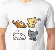 Happy Kitties Unisex T-Shirt