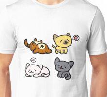Happy Kitties Unisex T-Shirt