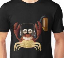Glitch NPC Happy Crab Approves Listening to Music Block Unisex T-Shirt