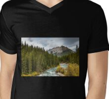 OF RIVERS AND MOUNTAINS Mens V-Neck T-Shirt