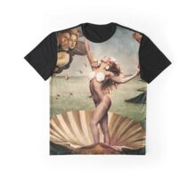 Lady Gaga Birth of Venus Graphic T-Shirt