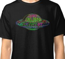 UFO Aliens are real Conspiracy Theory Classic T-Shirt